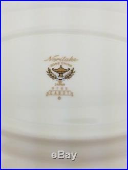 Noritake Bone China CABOT Gravy Boat & Underplate 2 Piece Set #9785 Used Great
