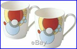 Noritake Bone China Frank Lloyd Wright tableware mug cup pair set P97280/4614