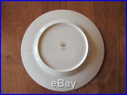 Noritake Bone China Ivory SHENANDOAH 9729 Set of 4 Dinner Plates 10 5/8 Pink A