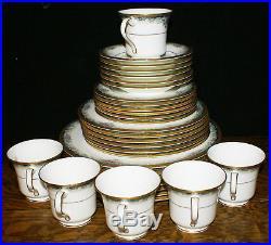 Noritake Bone China Mi Amor Pattern 4717 SIX 5 Piece Place Settings Nr Mint