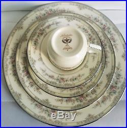 Noritake Bone China Shenandoah 9729 Serving for 12 (60 PC Dinnerware Set)
