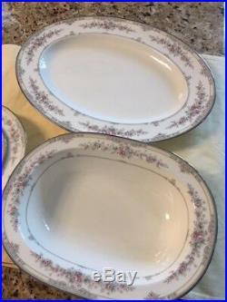 Noritake Bone China Shenandoah Pattern 12 Place Settings #9729
