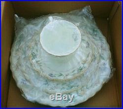 Noritake Brookhollow Bone China 5 Piece Place Setting 4704 Brand New Sealed