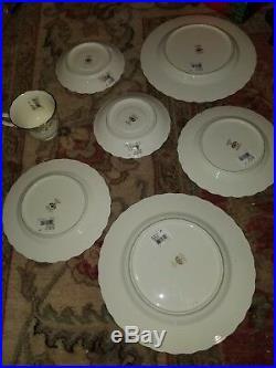 Noritake Brookhollow Bone China Dinnerware 3- 5 Piece Place Settings (14 Pc)