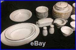 Noritake Buckingham 81 pc China Dinnerware Set with cases