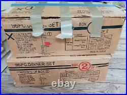 Noritake CASABLANCA 6842 China Set Of 96 Pieces NIB
