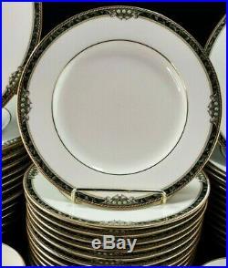 Noritake COVINA 60 Pc SET FOR 12 Bone China Raised Dots 9791 Ivory MINT UNUSED