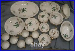 Noritake Canton bamboo pattern 5027 china various pieces $ for all listed