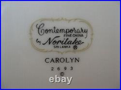 Noritake Carolyn 2693 China Dinnerware Set for 10 62 Pcs Very Nice
