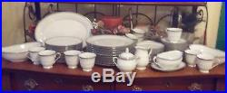 Noritake China 12 complete place settings, mint condition 66 Pieces