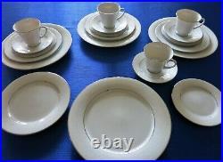 Noritake China 2585 TAHOE Pattern Service for (4) 5 Piece Place Settings