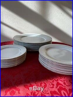 Noritake China #2585 Tahoe Pattern SIX Five-piece Place Settings 30 Pieces EUC