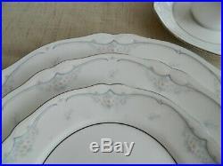 Noritake China #3805 Sabetha Dinnerware Set for (10) 6-4
