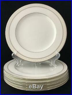 Noritake China 4807 Montvale Platinum 30Pc Set Service for 6 FREE SHIPPING