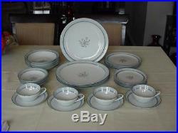 Noritake China #5558 Bluebell Dinnerware 4-7pc Place Settings(28 Pieces)