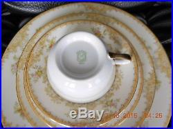 Noritake China 88 PC Dinnerware Set Circa 1933-1940 RARE