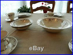 Noritake China Adagio #7237 Dinnerware Set for (12) With 8 Serving Pieces 14-3