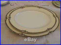 Noritake China Baroda Dinnerware Set for (7) with6 Serving Pieces BW5-2