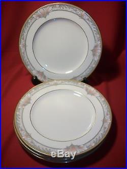 Noritake China Barrymore Set of 4 Dinner Plates