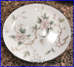 Noritake China CHATHAM pattern 5502 Set of 10 Cup and Saucer Set EXCELLENT COND