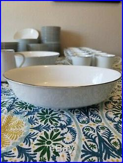 Noritake China Casablanca 12 place setting + serving dishes, Cups & Saucers 95pc