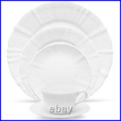 Noritake China Cher Blanc 60Pc China Set, Service for 12