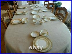 Noritake China Cheramy Dinnerware Set for (8) with 6 Serving Pieces 6-3