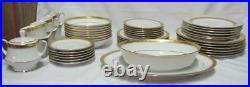 Noritake China Crestwood Gold Service For 6 47 Pc. Set