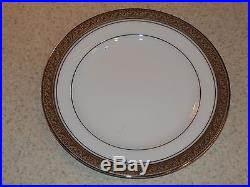Noritake China Crestwood Platinum Set 5 Bread Plates 6 3/8 New Unused