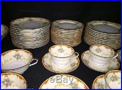 Noritake China Fiesta Dinnerware 86 Piece Set