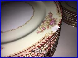 Noritake China Floral Pattern HUGE 61pc SET Occupied Japan