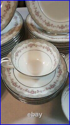 Noritake China Glenwood Pattern # 5770 DINNERWARE Place Setting 45 Pcs