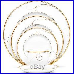 Noritake China Golden Wave 20Pc China Set, Service for 4