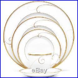 Noritake China Golden Wave 60Pc China Set, Service for 12