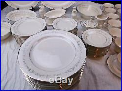 Noritake China Heather Fine China 5 Piece Setting for 12 With Service