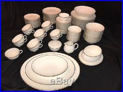 Noritake China Montblanc 7527, Complete 95-piece Set For 12 People