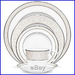 Noritake China Montvale Platinum 40Pc China Set, Service for 8