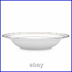 Noritake China Montvale Platinum Fruit Bowls, Set of 4