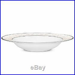 Noritake China Montvale Platinum Soup Bowls, Set of 4