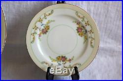 Noritake China N2170 Pink Yellow Blue Flowers 24 Pc Set 6 Pc Plc Set Serv for 4
