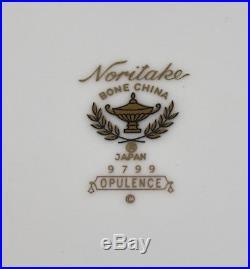Noritake China Opulence Coffee Set Pot Creamer Sugar Cups & Saucers X 6 1st New