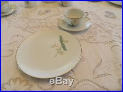 Noritake China Oriental #6341 Luncheon/Tea Set for 4 12-5