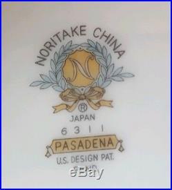 Noritake China Pasadena Rose Four, 5pc Place Settings