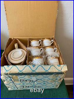 Noritake China RICHMOND #6124 17 Piece Tea Set Original Box! Free Shipping