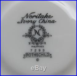 Noritake China ROTHSCHILD 5 Piece Place Setting(s) MULTIPLE AVAILABLE EXCELLENT