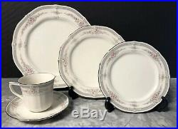 Noritake China ROTHSCHILD Lot Of Four 5 Piece Place Settings Japan Excellent
