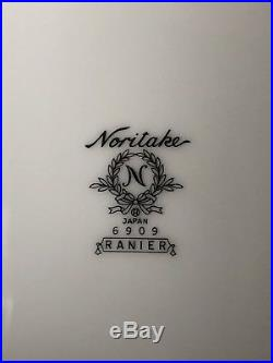 Noritake China Ranier 6906 Dinner Plates Set Of 8 Nice