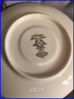 Noritake China Reina Set + Serving Dishes + Cups & Saucers 34pc Set EUC 7541