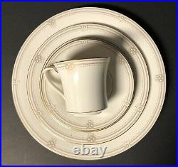 Noritake China SATIN GOWN Lot Of Four 5 Piece Place Settings Excellent