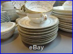 Noritake China STANWYCK Collection 5818 Dinnerware Set 79 PIECES